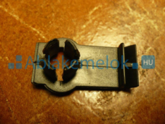 E46 üvegrögzítő clips (rövid)