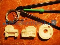 Polo 6N2 (5 ajtós) jobb első szett ( 2 vezetékes)