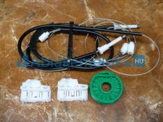 Polo 6N2 (5 ajtós) BAL első szett sokvezetékes