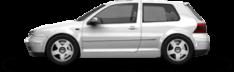 Golf IV (1998-2004) 3 ajtós