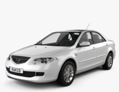 Mazda 6 (2002–2007)
